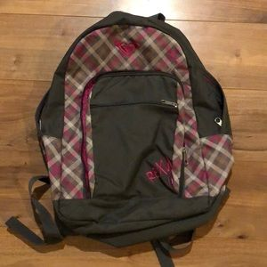 Roxy gray backpack